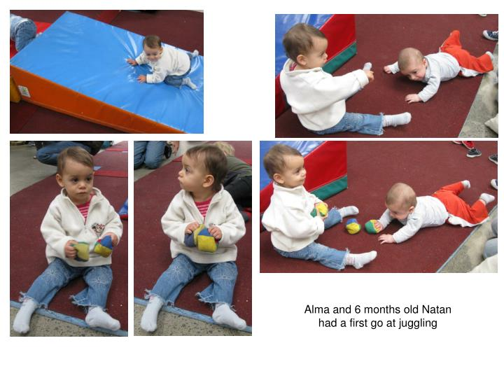 Alma and 6 months old Natan