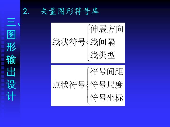 2.  矢量图形符号库