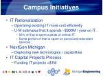campus initiatives