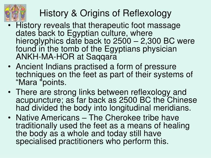 history of reflexology Barefoot is the most common shoes have been regarded as badges of freedom and signs of empowerment since early human history, while going barefoot designated.