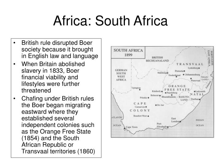 Africa: South Africa