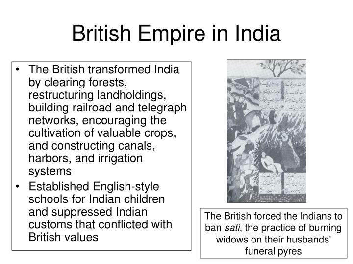 British Empire in India