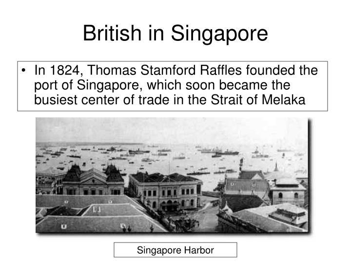 British in Singapore