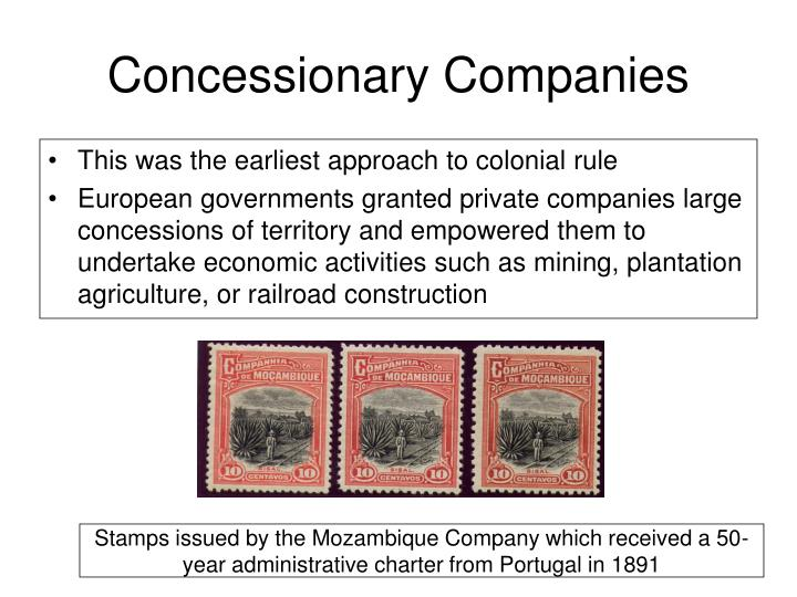 Concessionary Companies