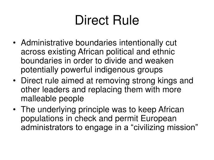 Direct Rule