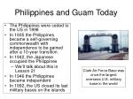 philippines and guam today