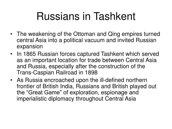 Russians in Tashkent