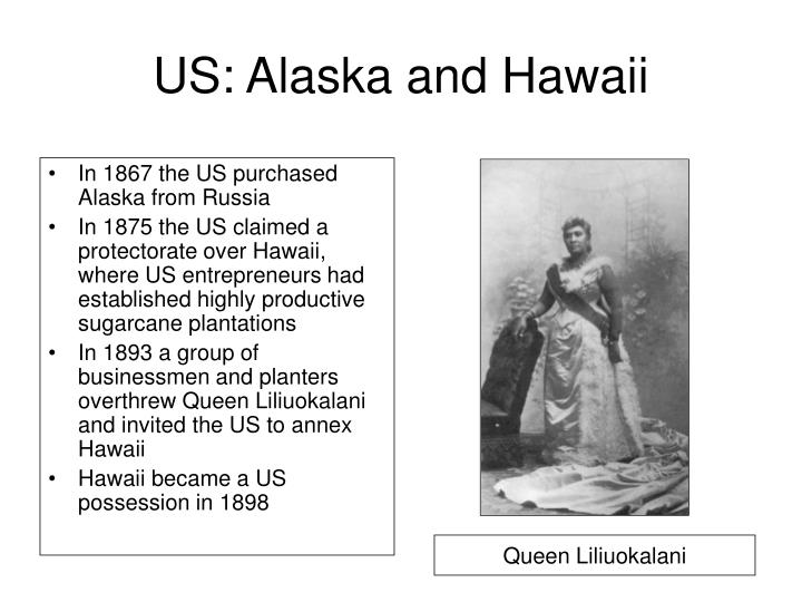 US: Alaska and Hawaii