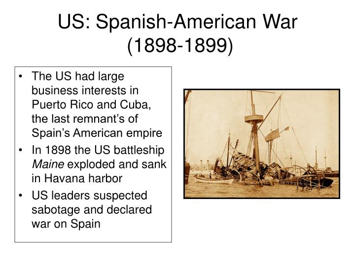 US: Spanish-American War