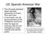 us spanish american war