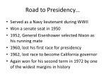 road to presidency