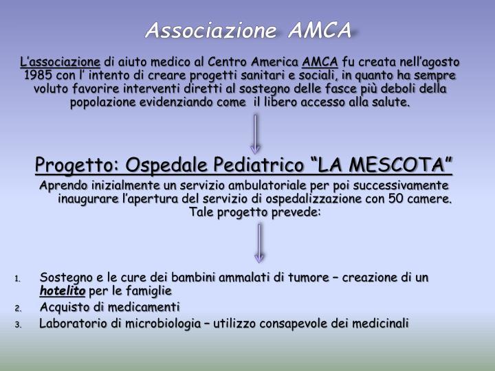 Associazione AMCA