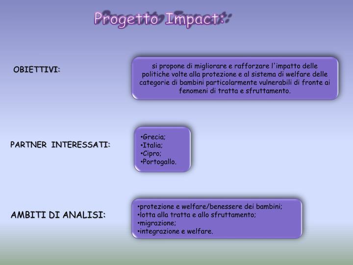Progetto Impact: