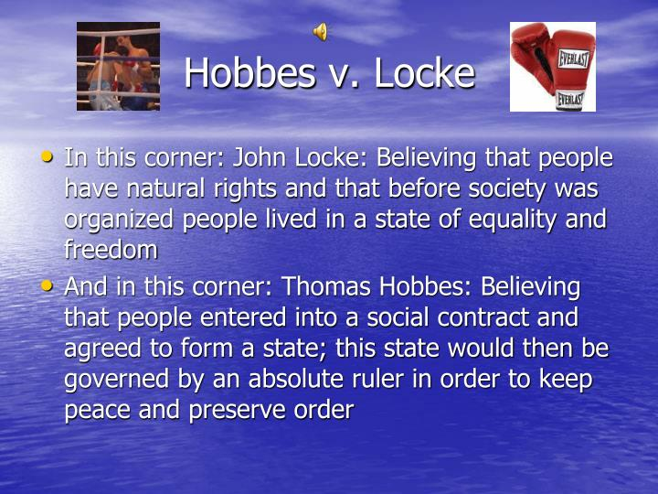 Hobbes v. Locke