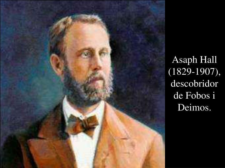 Asaph Hall (1829-1907), descobridor de Fobos i Deimos.