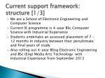current support framework structure 1 3