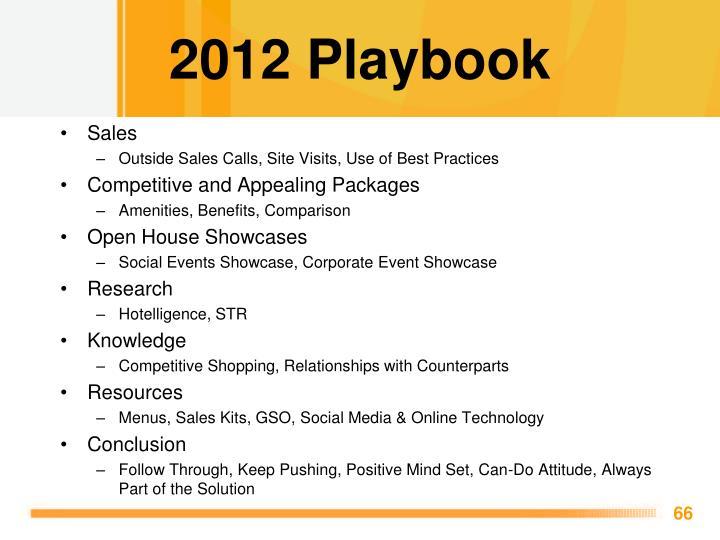 2012 Playbook