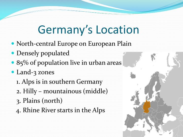 Germany's Location