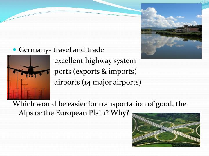 Germany- travel and trade