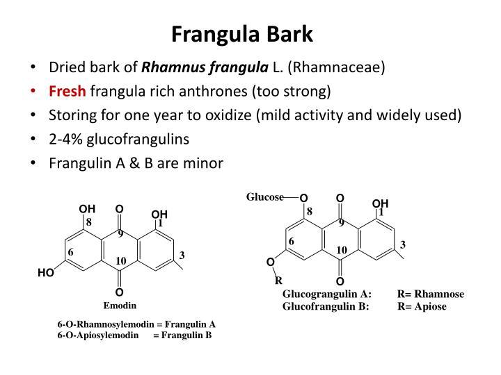 Frangula Bark