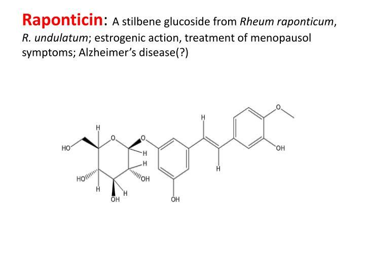 Raponticin