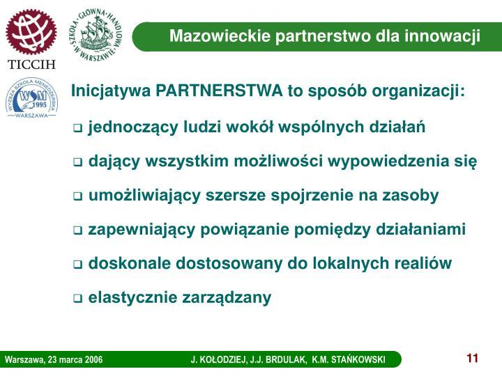 Mazowieckie partnerstwo dla innowacji