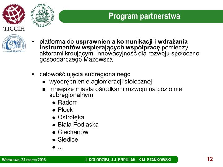 Program partnerstwa