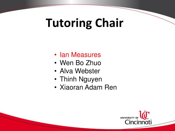 Tutoring Chair