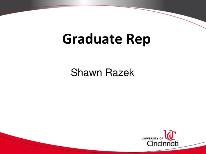 Graduate Rep