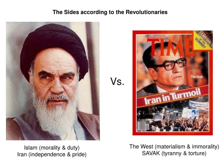 The Sides according to the Revolutionaries