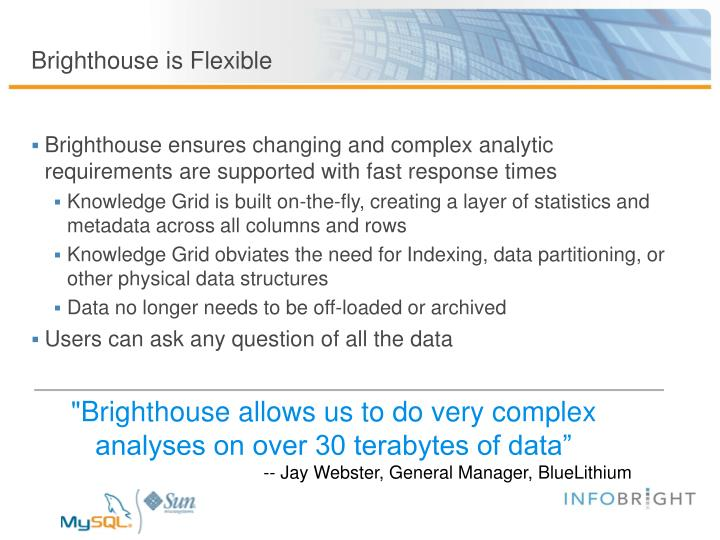Brighthouse is Flexible