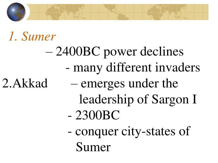 1. Sumer
