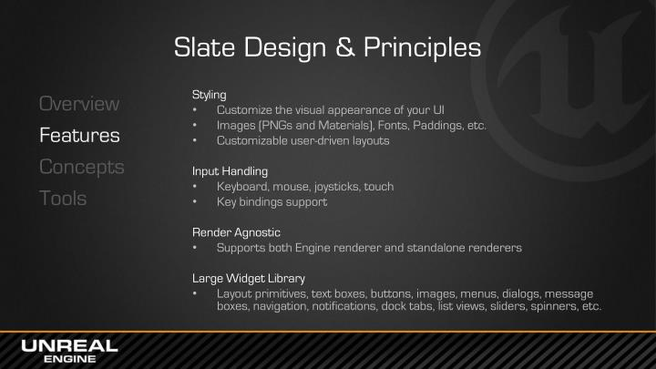 Slate Design & Principles
