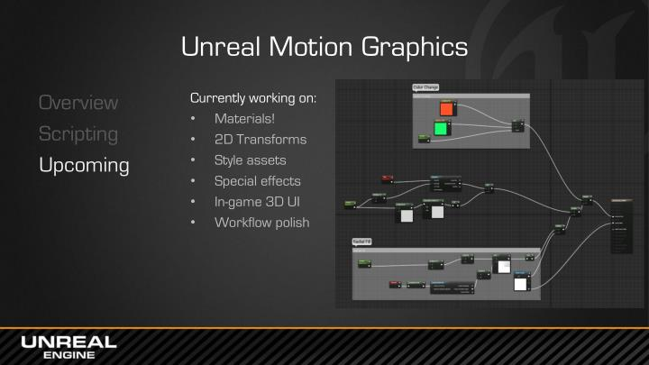 Unreal Motion Graphics