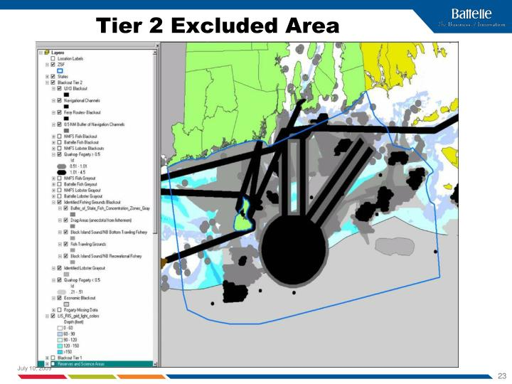Tier 2 Excluded Area