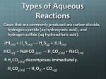 types of aqueous reactions2