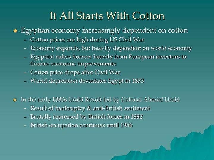 It All Starts With Cotton