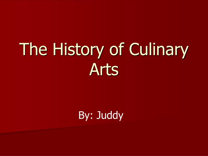 history abut culinary arts 30 fascinating and fun art facts did you know that art teaches kids far more than self  the arts teach children that problems can have more than one solution.