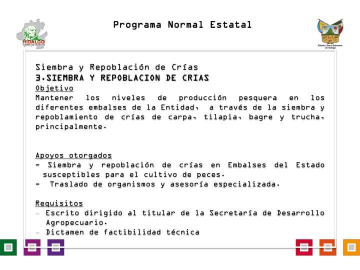 Programa Normal Estatal