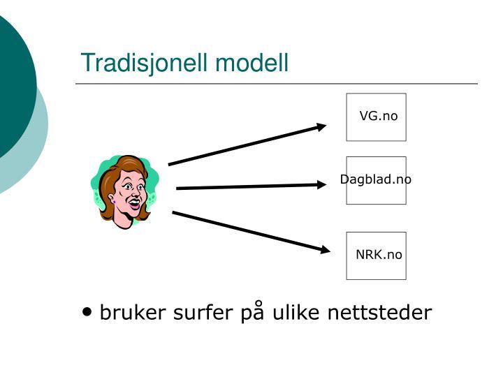 Tradisjonell modell