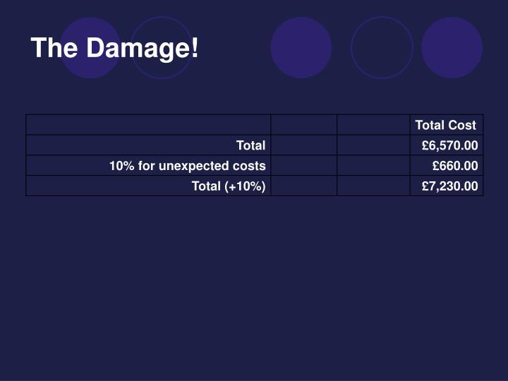 The Damage!