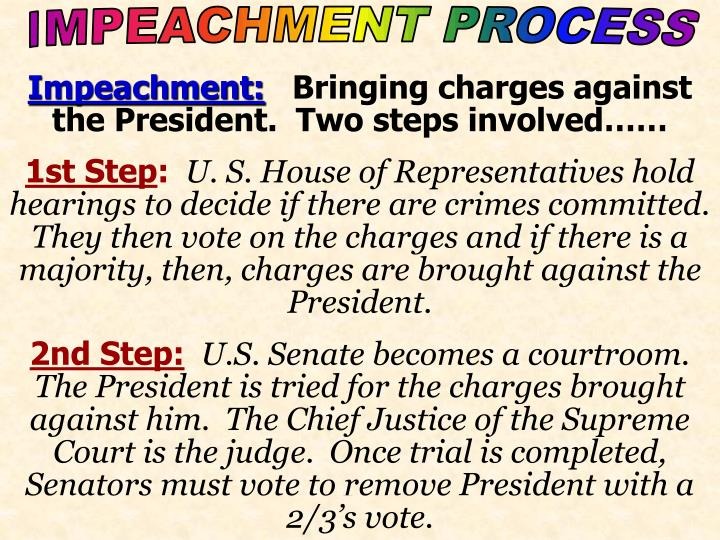 Impeachment process