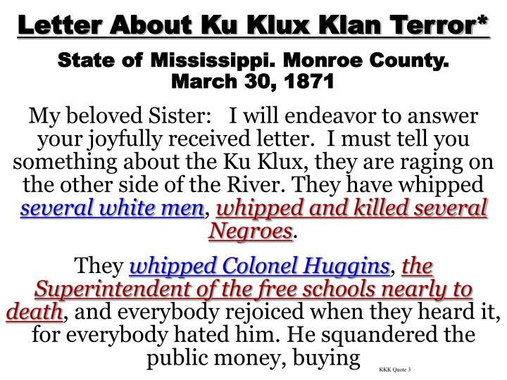 KKK Quote 3