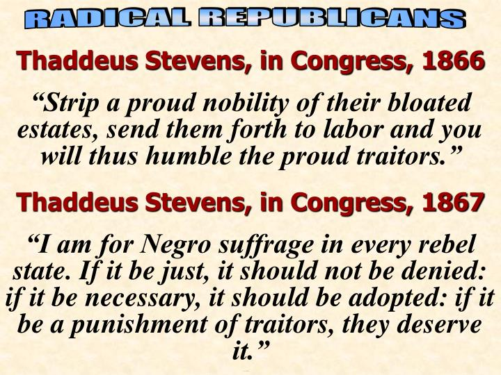 Quotes of Radicals