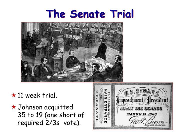 The Senate Trial