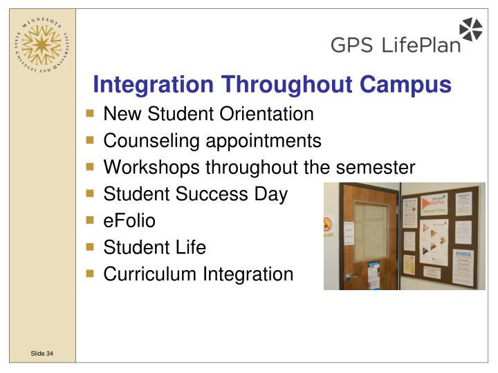 Integration Throughout Campus