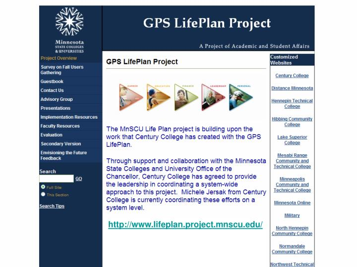 http://www.lifeplan.project.mnscu.edu/