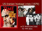 us iranian hostage crisis 1979