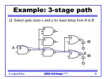 example 3 stage path