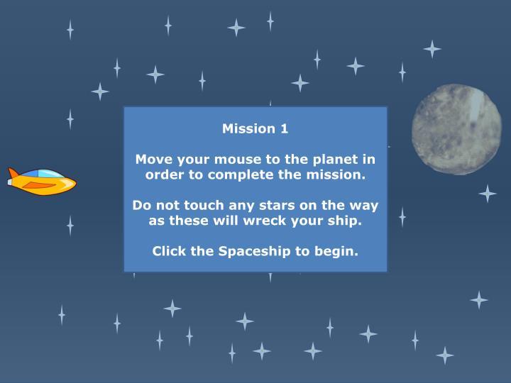 Mission 1